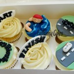 Triatlon Cupcakes Swimming Cycling Running Bicycle