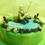 Cake toppers Bespoke Designer Celebration Cakes Fishing cake