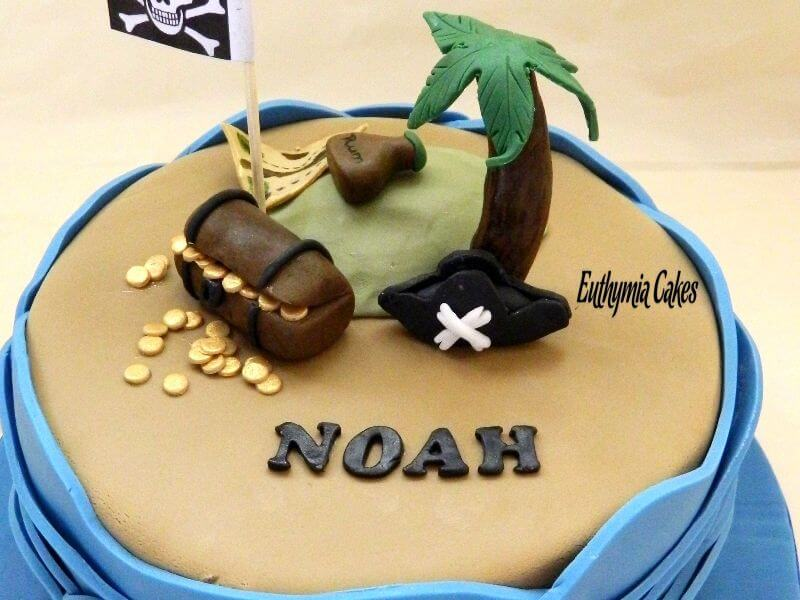 Cake toppers Pirate theme cake toppers