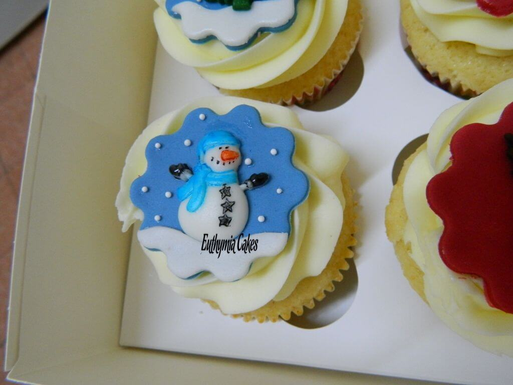 Cake toppers Christmas cupcake toppers