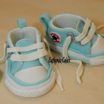 Cake toppers Baby shoes cake topper