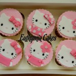 Cake toppers Kitty cupcake toppers
