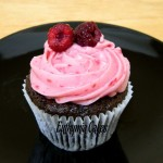 chocolate cupcakes raspberry cream cheese fresh