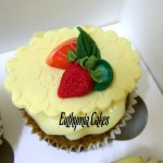 Cake toppers Fruit cupcake topper Pimm's