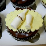 Pimm's belgian chocolate cupcakes butter cream
