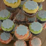 christening cupcakes royal icing vanilla carrot chocolate mint peppermint cream cheese butter cream step