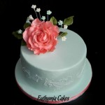 Cake toppers Bespoke Designer Celebration Cakes roses filler flowers birthday bridal cake wedding stencil royal icing