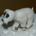 Cake toppers Edble Dog cupcake topper