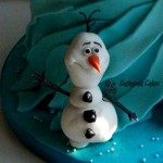 Cake toppers Snowman Cake topper