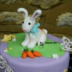 Cake toppers Personalised figure, flower and letter toppers