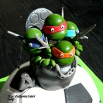Cake toppers Teenage Mutant Ninja Turtles 3D Football
