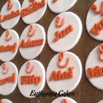 Cake toppers Etnetera corporate cupcake toppers