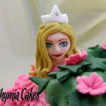Cake toppers Edible princess topper
