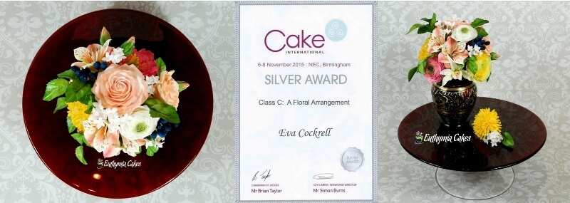 Silver Award Cake International!