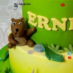 Cake toppers hand made Bear cake topper
