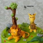 Cake toppers Hand made animal cake toppers