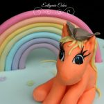 Cake toppers Hand made pony cake topper