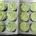 Personalised Special Occasion Cupcakes Flower Garden
