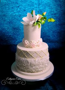 Wedding cakes The Great Hospitality show 2017 Silver Award