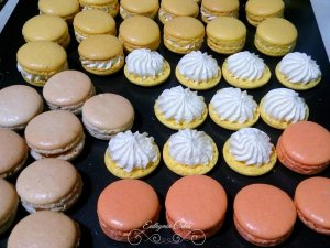 Wedding favours French Macarons Euthymia Cakes Milton Keynes