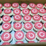 Corporate cupcakes for Explorer Travel Insurance launch of new logo
