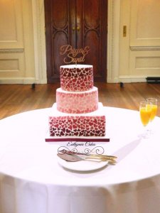 Wedding cake Milton Keynes Ombre effect